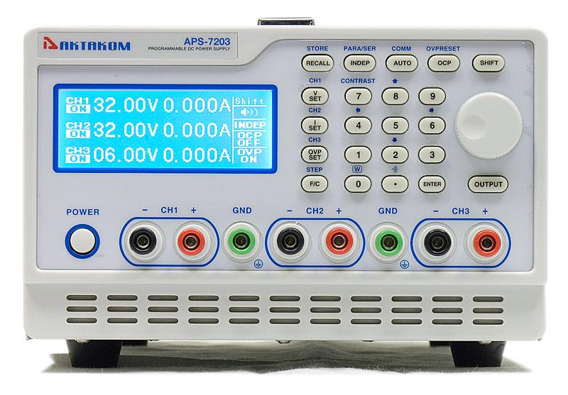 APS-7203 - вид спереди